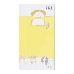 Pocket Diary Slim Dog