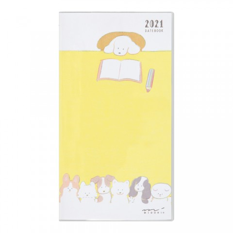 Pocket Diary Slim Dog