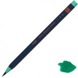 Akashiya Watercolor Brush Pen Sai - Green Blue (Rokusho-Iro)