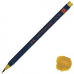 Akashiya Watercolor Brush Pen Sai - Yellow Ocher (Odo-Iro)