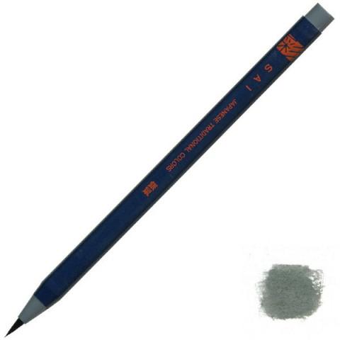 Akashiya Watercolor Brush Pen Sai - Gray (Gin-Nezumi)