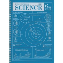 APICA Lesson Notebook - Spiral B5 Science