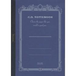 Apica Premium CD Notebook - A4 8mm Line - Blue