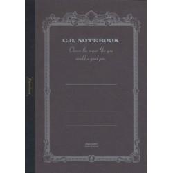 Apica Premium CD Notebook - A4 Blank - Black