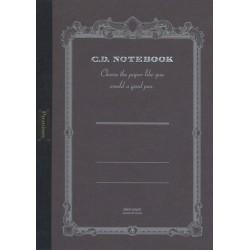 Apica Premium CD Notebook - B5 Blank - Black