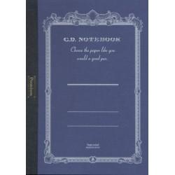 Apica Premium CD Notebook - A5 7mm 24 Line - Blue