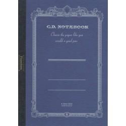 Apica Premium CD Notebook - A6 6.5mm 18 Line - Blue