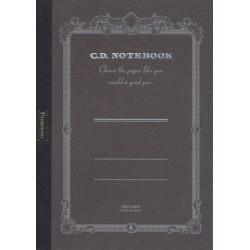 Apica Premium CD Notebook - A6 Blank - Black