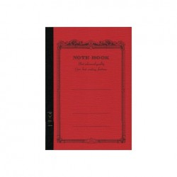 Apica Cd Notebook Standard - A5 Red