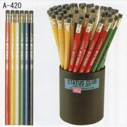 Eyeball Pencils - Status Club Hb Black