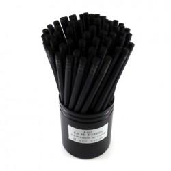 Eyeball Pencils - Black In Black Hb