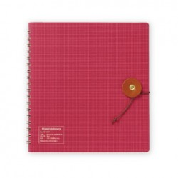 Kleid String-Tie Notebook 02 - Red