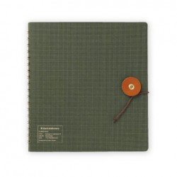 Kleid String-Tie Notebook 02 - Olive Drab