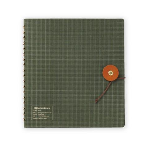 Kleid String-Tie Notebook 02 - Olive Drab