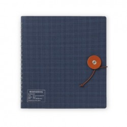 Kleid String-Tie Notebook 02 - Navy