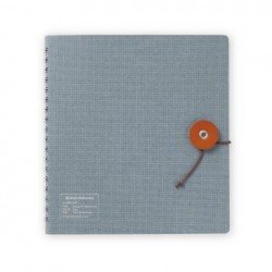 Kleid String-Tie Notebook 02 - Gray