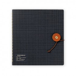 Kleid String-Tie Notebook 02 - Black