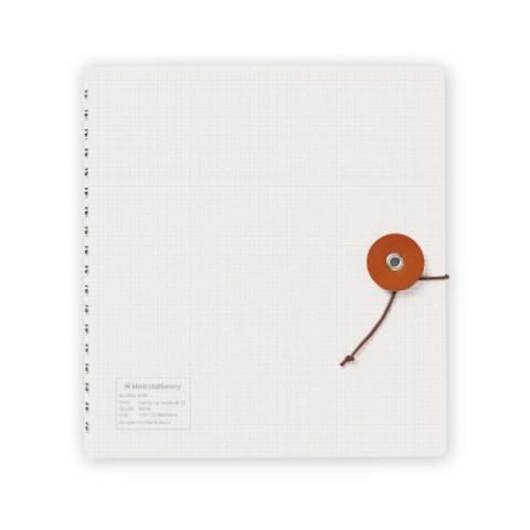 Kleid String-Tie Notebook 02 - White