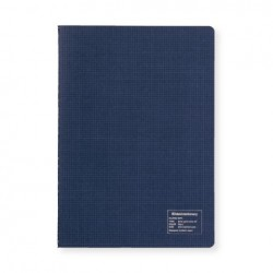 Kleid 2mm Grid Notebook - A5 - Navy - White Paper
