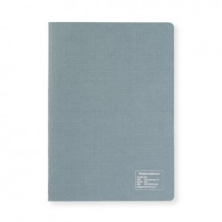 Kleid 2mm Grid Notebook - A5 - Gray - White Paper