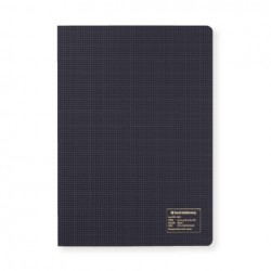 Kleid 2mm Grid Notebook - A5 - Black - Cream Paper