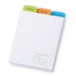kleid Sticky Notes - 3Type Memo Label - White