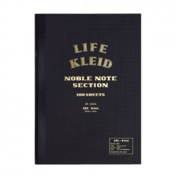 kleid X Life Noble Notebook - A5 - Black - Cream Paper