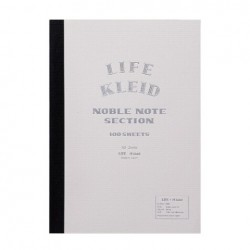 kleid X Life Noble Notebook - A5 - White - White Paper