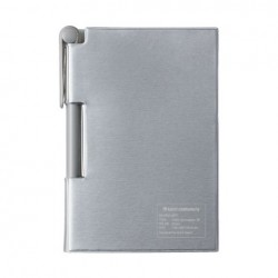 kleid 2face Memo And Pen RF - Silver