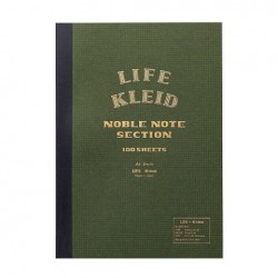 kleid X Life Noble Notebook - A5 Olive Cream Paper