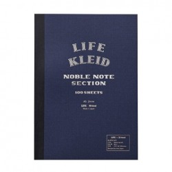 kleid X Life Noble Notebook - A5 Navy White Paper