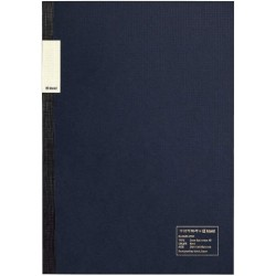 kleid Flat Notebook - A5 Navy