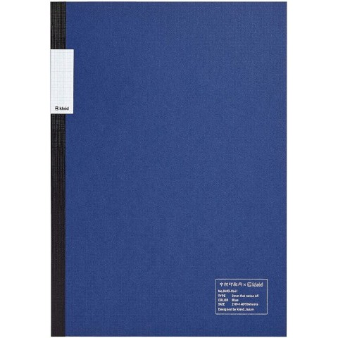 kleid Flat Notebook - A5 Blue
