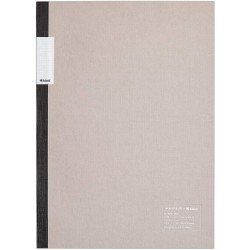 kleid Flat Notebook - A5 Gray