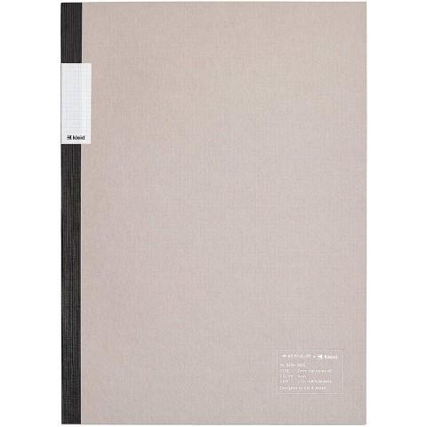 kleid Flat Notebook - A5 Gray