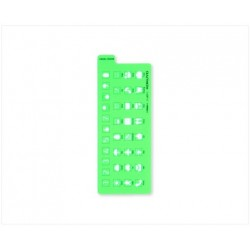 Jibun Techo Accessories - Template Icon: Green - Number And Symbol