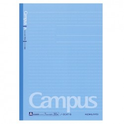 Kokuyo - Campus Notebook - B5 - Dotted 7 mm Rule - Blue