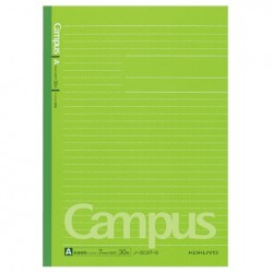 Kokuyo - Campus Notebook - B5 - Dotted 7 mm Rule - Green