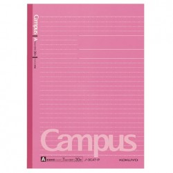 Kokuyo - Campus Notebook - B5 - Dotted 7 mm Rule - Pink