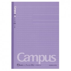 Kokuyo - Campus Notebook - B5 - Dotted 7 mm Rule - Violet