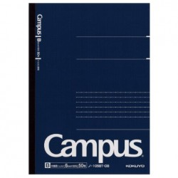 Kokuyo - Campus Notebook - A5 - Dotted 6 mm Rule - Navy