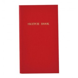 Trystrams Field Note - Sketch Book Red