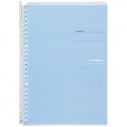 Kokuyo Campus Smart Ring Binders Notebook - B5 - 26 Rings Light Blue