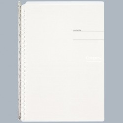Kokuyo Campus Smart Ring Binders Notebook - B5 - 26 Rings Light Clear