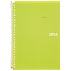 Kokuyo Campus Smart Ring Binders Notebook - B5 - 26 Rings Light Green