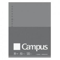 Kokuyo Campus Loose Leaf Paper - Sarasara A5 - Blank 120 Sheets
