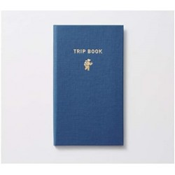 Trystrams Field Note - TRIP BOOK - Dotted 5mm - Navy