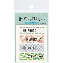 Trystrams Field Note - TRIP BOOK - WASHI TAPE - Log