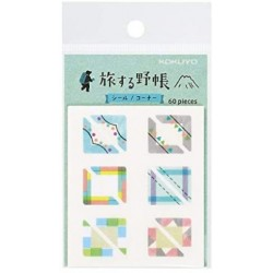 Trystrams Field Note - TRIP BOOK - WASHI TAPE - Corner
