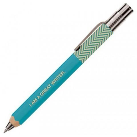 Marks Zig Zag Ballpoint Pen 1.0mm - Turquoise